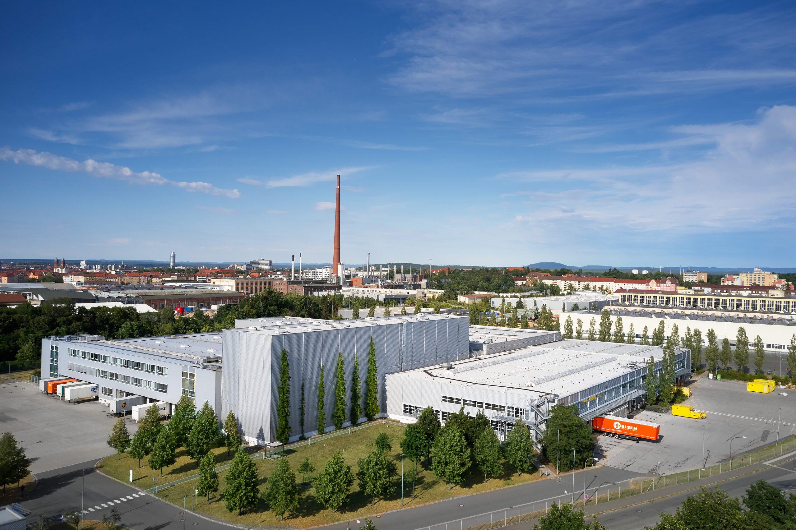 BEOS Logistikzentrum Nürnberg